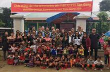 Vier Länder  – Fünf Schulen:  DERPART Delegation eröffnet  neue Schule in Vietnam