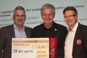 DERPARTner spenden 28.000 Euro für neue Schule in Sri Lanka: