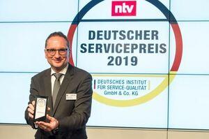 DERPART zählt zu den servicebesten Unternehmen Deutschlands: Auszeichnung mit dem Deutschen Servicepreis 2019